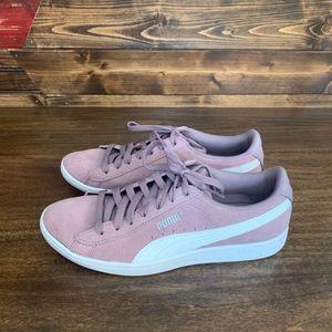 Puma Shoes - Women's Lilac Puma Classic+ Sneakers